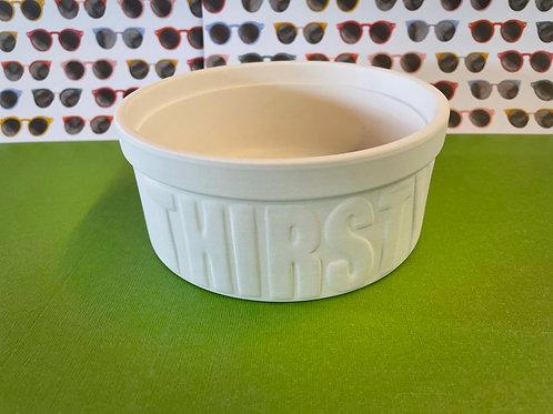 Thirsty pet bowl