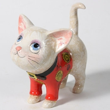 Puss in suit