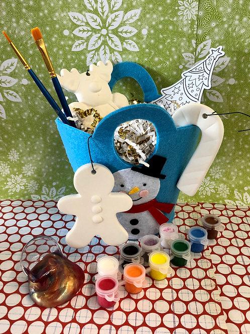 Christmas orament bucket kit