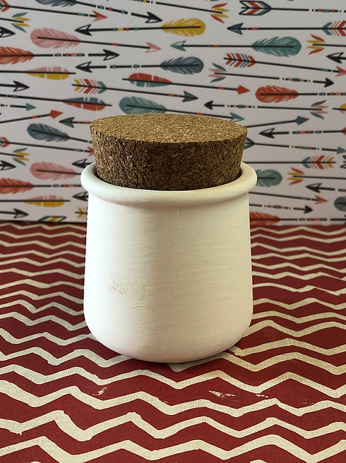 Retro Jar with cork