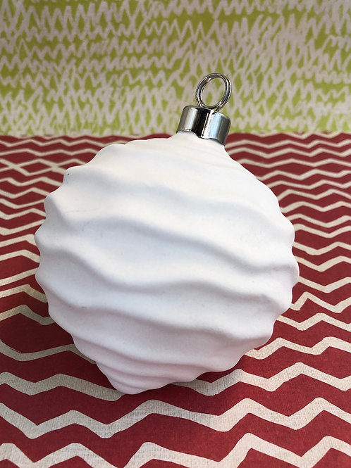 Wavy Ball Ornament