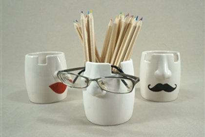 Eyeglass/pencil holder