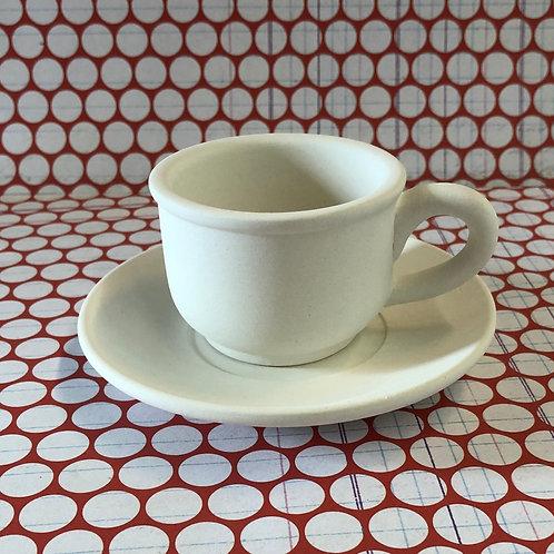 Mini Espresso cup & saucer