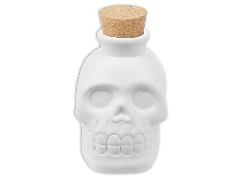 Mini skull jar