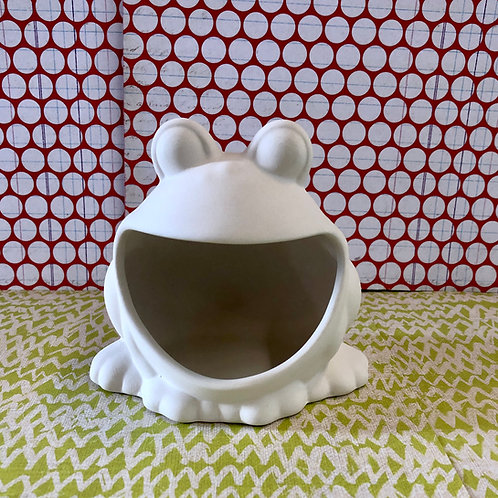 Frog scrubby/sponge holder