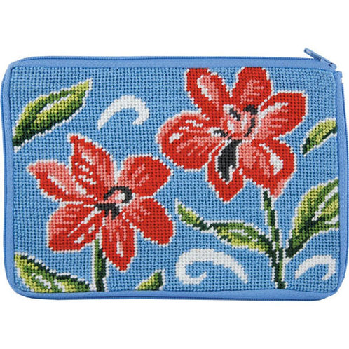 Red flowerlarge case