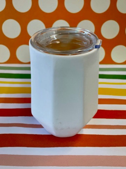 Prismware cup with lid