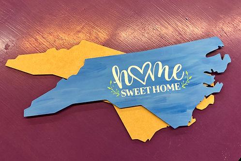 North Carolina board cutout