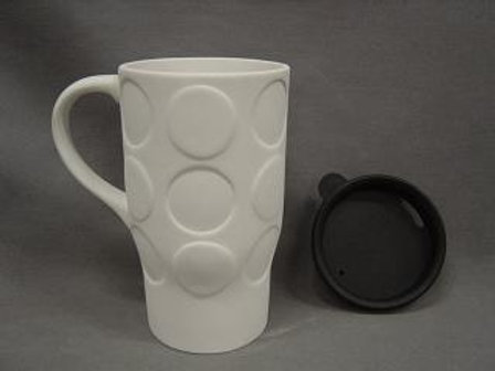 Dots travel mug