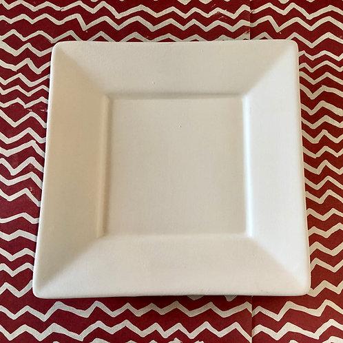 Angled rim plate