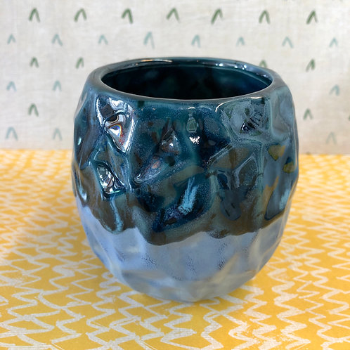 Ocean mist speciality glaze planter/cup kit