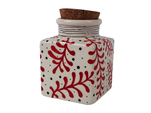 Cork top canister