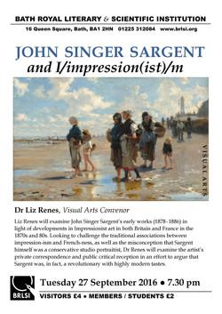 Poster-Visual Arts-Singer Sargent-27 Sep