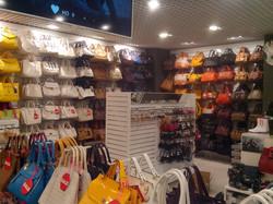 Магазин женских сумок и аксессуаров.
