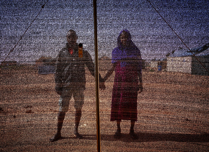 Reunited, Niger 2013, Archival Pigment Print, Series of 5