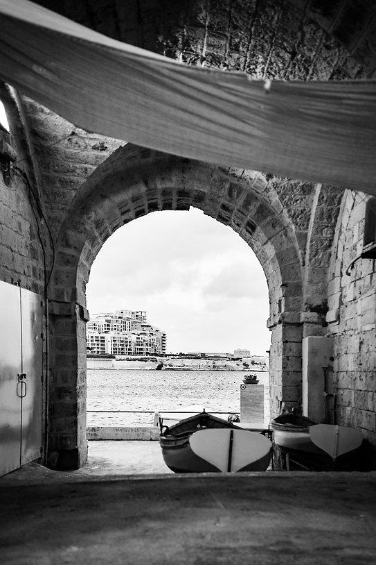 Hidden Corner, Valletta, Malta, 2018, Gelatin Silver Print, Series of 7