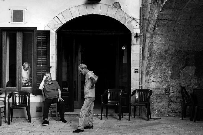 Gossip Boys, Ragusa, Sicily, 2016, Gelatin SIlver Print, Series of 7