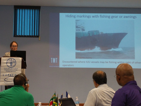 TMT present on vessel markings, identifiers at the second meeting of Regional Working Group on IUU F