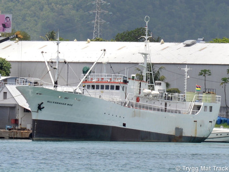 First vessels IUU listed by SIOFA