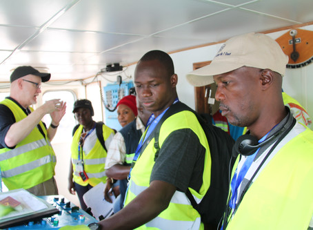 Joint training held in support of the FCWC West Africa Task Force