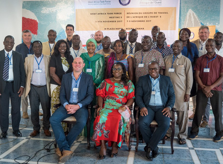 Fifth West Africa Task Force meeting strengthens regional collaboration to stop illegal fishing