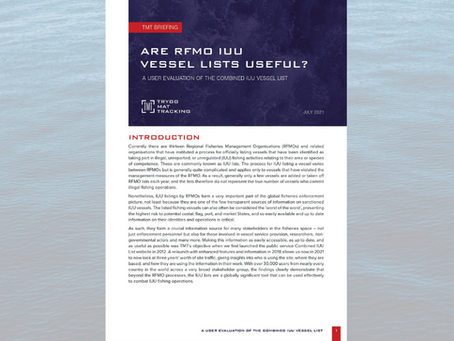 Are RFMO IUU lists useful? A User Evaluation of the Combined IUU Vessel List