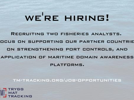 We're Hiring - Fisheries Analysts