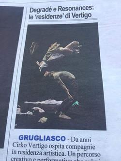 """""""Degradé"""" (2017). Torino"""