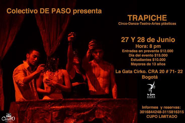 """""""Trapiche"""" Colectivo de paso (2014)"""