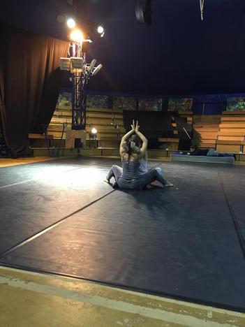 Residencia en Ecole des arts du cirque de Lomme, Francia. Cie BluecinQue
