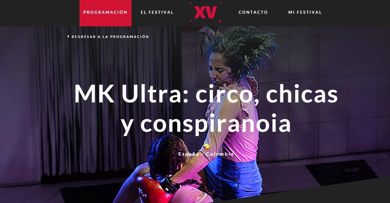 Mk. Ultra en el XV FITB (2016)