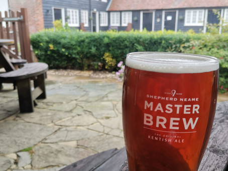 Blog #80 Shepherd Neame Master Brew - A trip to the countryside