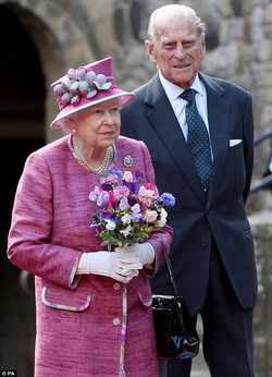 The Queen's visit to Stirling Castle