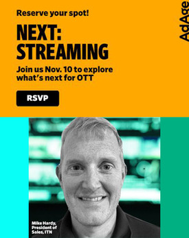 Ad Age Next: Streaming