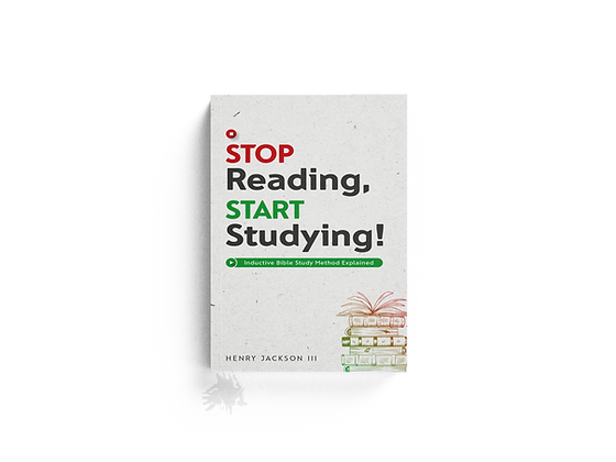 Stop Reading, Start Studying
