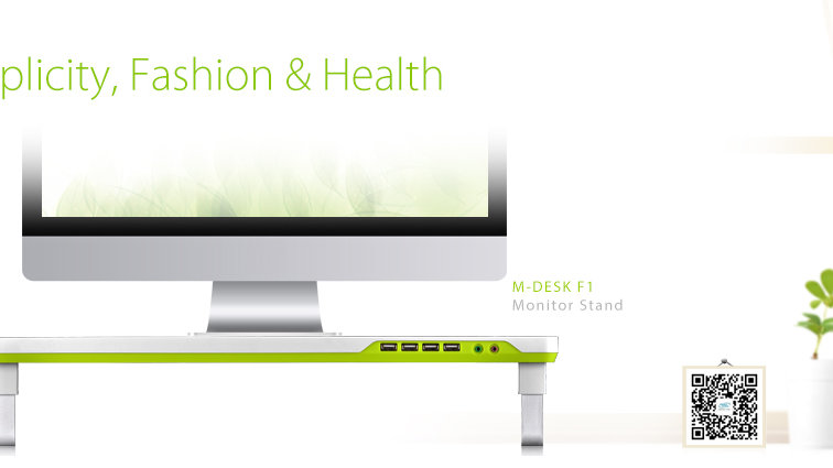 DeepCool Desktop Monitor Stand (M-Desk F1