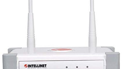 Intellinet Wireless 300N Access Point with 2x 3dBi Detachable Antenna (524735)
