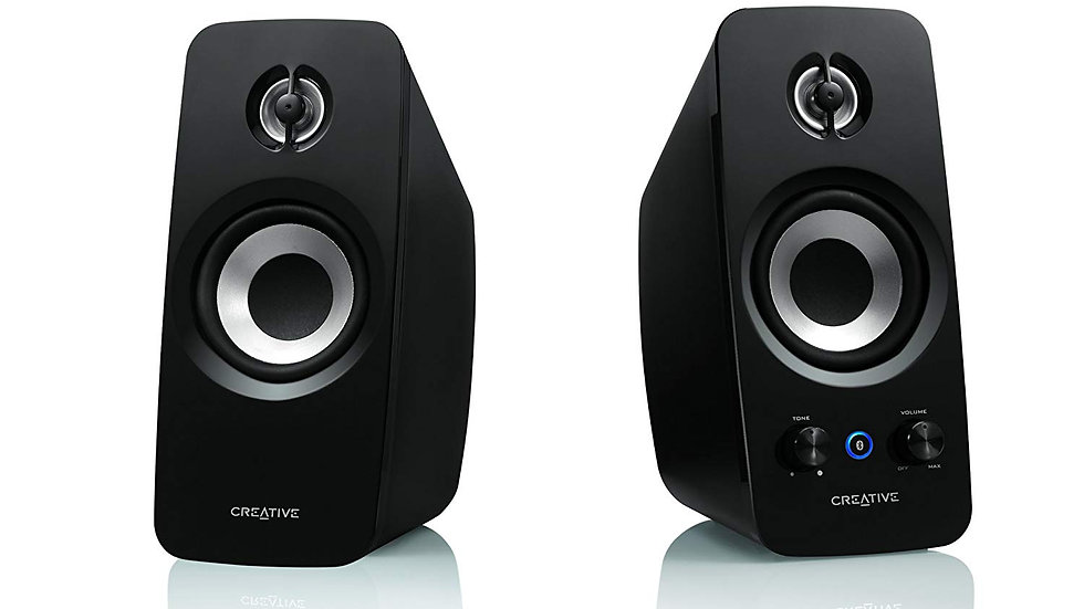 Creative T15 Wireless Bluetooth 2.0 Computer Speaker System/Refurbished