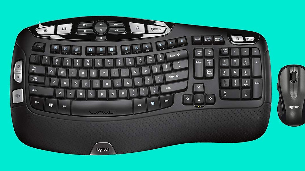LOGITECH Wireless Desktop Keyboard and Mouse