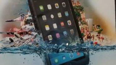 Lifeproof Nuud Case for iPad Air - Black