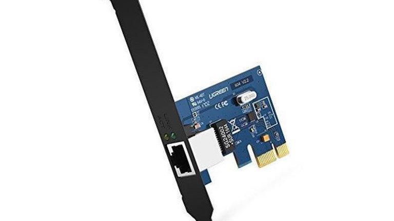 UGREEN Gigabit Ethernet PCI Express PCI-E Network Controller Card 10/100/1000Mbp