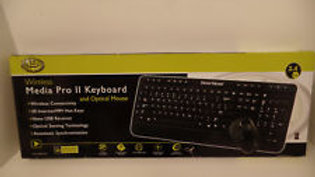 Gear Head KB5975W Wireless Media Pro Keyboard and Optical Mouse