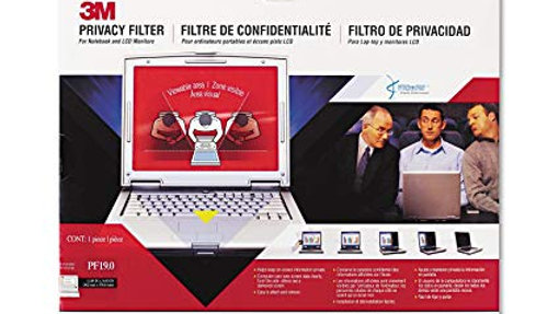 3m Pf19.0 3m Privacy Filter for Notebook & LCD Monitors