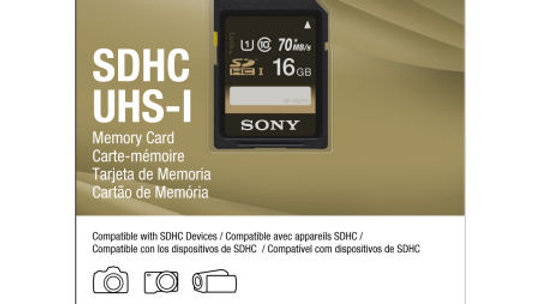 Sony 16GB Memory Card - HDHC UHS-I - High Speed 40MB/s