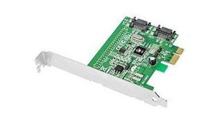 """SIIG """"SIIG SC-SA0S11-S1 DP SATA 6Gb/s 2-Port Hybrid PCIe"""