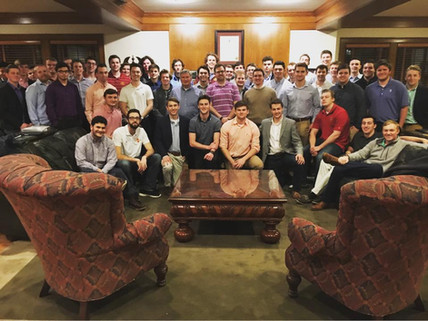Happy 149th Founder's Day from the men o