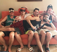 ISU pikes. Just some guys being dudes.pn