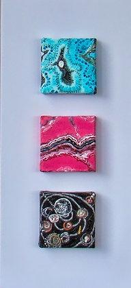 Gems Triptych