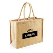 Jute Shopper personalisiert