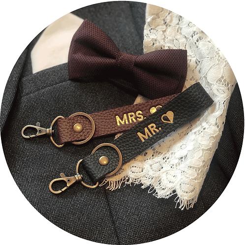 MRS. & MR. Schlüsselanhänger Set